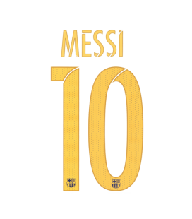 PACK MESSI 10 1ª JUNIOR STADIUM 15/17