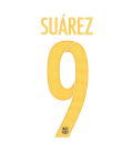 PACK SUAREZ 9 1ª JUNIOR STADIUM 15/17